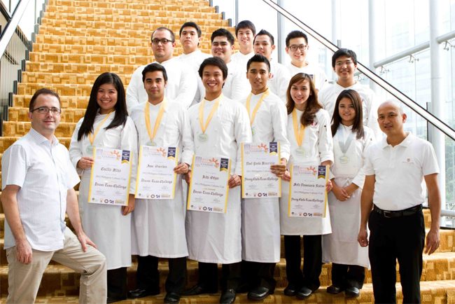 Congratulations To All Enderun Students Who Participated In The 2012 Philippine Culinary Cup