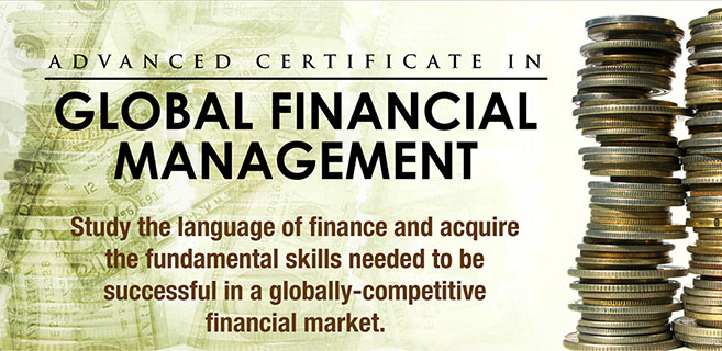 Enderun Colleges | Thunderbird Online | Advanced Certificate in Global Financial Management