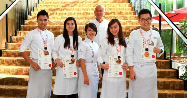 Enderun Students Dominate Malaysia Culinary Challenge