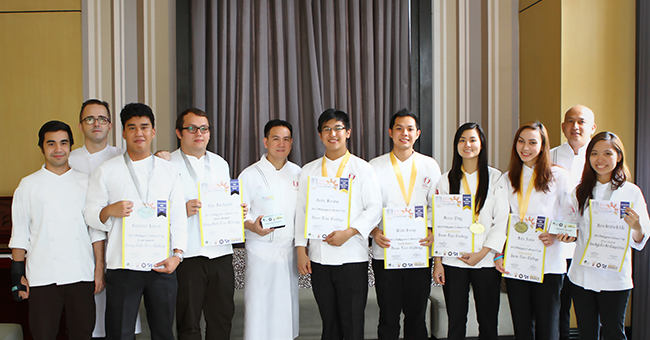 Congratulations To Enderun Students For Bagging Awards In The 2013 Philippine Culinary Cup