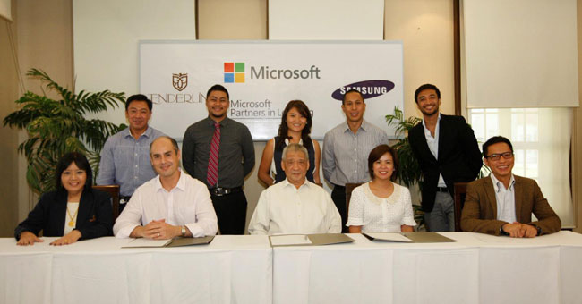 GMA News Online features Enderun Colleges' partnership with Microsoft