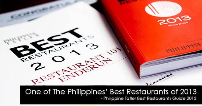 One of the Philippines' Best Restaurants in 2013