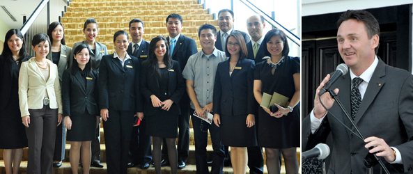 Enderun is a priority in Shangri-La Hotel Groups' Recruitment Efforts
